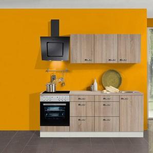 OPTIFIT Küchenzeile »Padua«, mit E-Geräten, Breite 210 cm