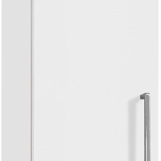 OPTIFIT Midischrank Napoli, 2 Türen, Soft-Close-Funktion, Breite 30 cm x 148,8 34,8 (B H T) cm, 2-türig weiß Bad-Midischränke Badmöbel Schränke