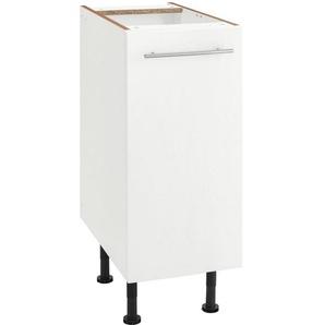 OPTIFIT Unterschrank »Bern« 30 cm breit, mit 1 Tür mit höhenverstellbaren Füßen, mit Metallgriff