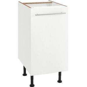 OPTIFIT Unterschrank »Bern« 40 cm breit, mit 1 Tür mit höhenverstellbaren Füßen, mit Metallgriff