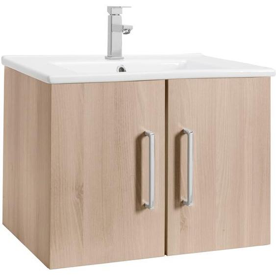 OPTIFIT Waschtisch Napoli, mit Soft-Close-Funktion, Breite 65 cm Einheitsgröße beige Waschtische Badmöbel