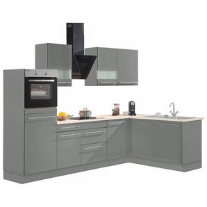 OPTIFIT Winkelküche mit E-Geräten , »Bern«, mit Schubkästen