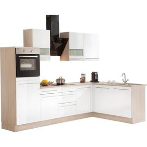 OPTIFIT Winkelküche mit E-Geräten »Bern«, mit Schubkästen
