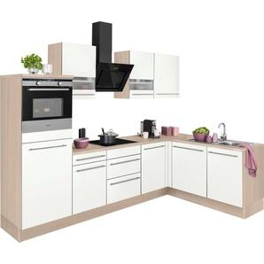 OPTIFIT Winkelküche »Bern«, mit Hanseatic E-Geräten, Stellbreite 285 x 175 cm