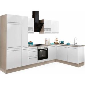 OPTIFIT Winkelküche »Bern«, ohne E-Geräte, Stellbreite 315 x 175 cm mit höhenverstellbaren Füßen
