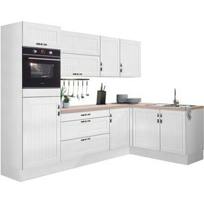 OPTIFIT Winkelküche »Cara«, ohne E-Geräte, Stellbreite 265 x 175 cm