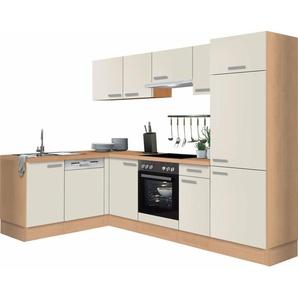 Optifit Winkelküche ohne E-Geräte »Odense«, Breite 275 x 175 cm