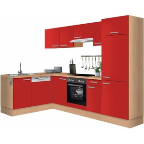 OPTIFIT Winkelküche »Odense«, ohne E-Geräte, Stellbreite 275 x 175 cm