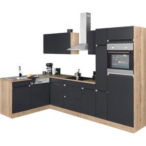 OPTIFIT Winkelküche »Roth«, ohne E-Geräte, Stellbreite 300 x 175 cm