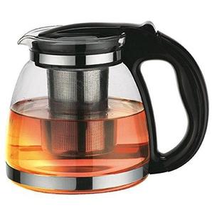 ORAVA VK-150 Teekanne aus Glas mit Edelstahlfilter 1,5 L Teebereiter