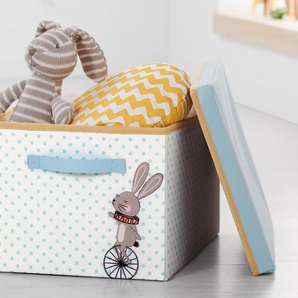 Ordnungsbox mit Deckel »Hase«