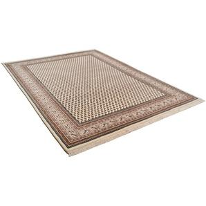 Orientteppich »Abbas Meraj Mir«, THEKO, rechteckig, Höhe 12 mm, reine Wolle, handgeknüpft, mit Fransen, Wohnzimmer