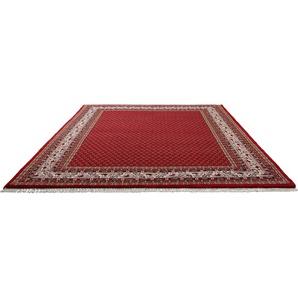 Orientteppich »Chandi Mir«, THEKO, rechteckig, Höhe 12 mm, reine Wolle, handgeknüpft, mit Fransen, Wohnzimmer