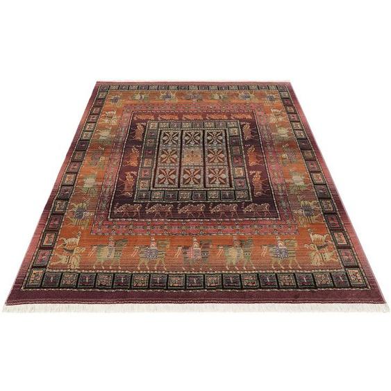 Teppich »Gabiro Pazyryk«, Oriental Weavers, rechteckig, Höhe 11 mm, Orient-Optik, mit Fransen, Wohnzimmer