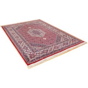 Orientteppich »Meraj Silk Touch Bidjar«, THEKO, rechteckig, Höhe 12 mm, von Hand geknüpft