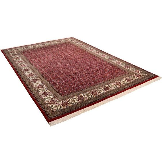 Orientteppich »Sirsa Seta Bidjar«, THEKO, rechteckig, Höhe 12 mm, Flor aus 20% Seide, handgeknüpft, mit Fransen, Wohnzimmer
