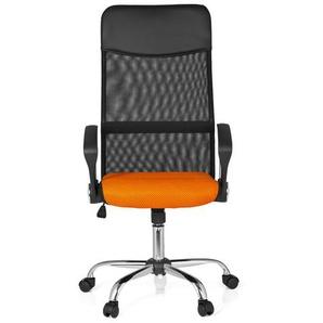ORION NET - Home Office Bürostuhl Schwarz / Orange