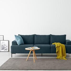 Essentials Oskar 3-Sitzer Sofa, Aegaeisblau