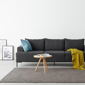 Essentials Oskar 3-Sitzer Sofa, Sterlinggrau