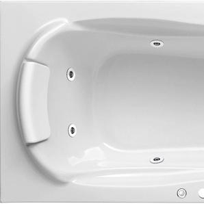 OTTOFOND Whirlpool-Badewanne Jamaica, Typ 1, chrom Einheitsgröße weiß Badewannen Whirlpools Bad Sanitär