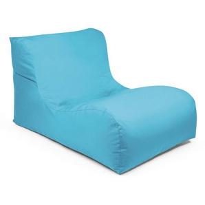 Outbag Sitzsack ,blau ,Stoff