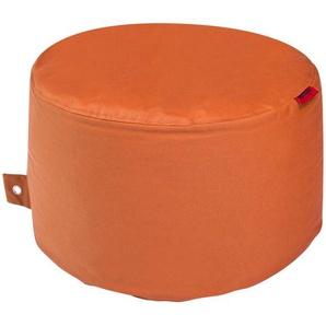 Sitzsack  Rock Plus ¦ orange ¦ Maße (cm): H: 35 Ø: [60.0] Garten  Auflagen & Kissen  Outdoor-Sitzsäcke » Höffner