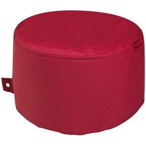 Sitzsack  Rock Plus ¦ rot ¦ Maße (cm): H: 35 Ø: [60.0] Garten  Auflagen & Kissen  Outdoor-Sitzsäcke » Höffner