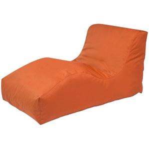 Sitzsack  Wave Plus ¦ orange ¦ Maße (cm): B: 70 H: 65 T: 125 Garten  Auflagen & Kissen  Outdoor-Sitzsäcke » Höffner