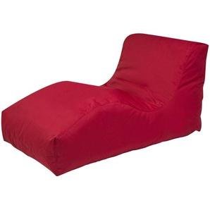 Sitzsack  Wave Plus ¦ rot ¦ Maße (cm): B: 70 H: 65 T: 125 Garten  Auflagen & Kissen  Outdoor-Sitzsäcke » Höffner