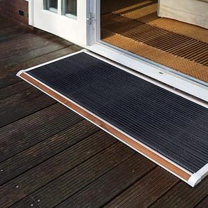Outdoor-Fußmatte New Standard RiZZ weiß, Designer Trudie Zuiddam/WELL design, 2.2x175x70 cm