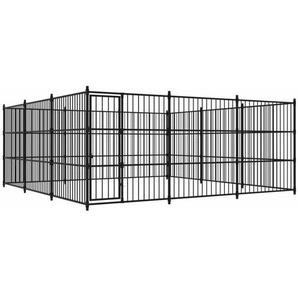 Outdoor-Hundezwinger 450×450×185 cm