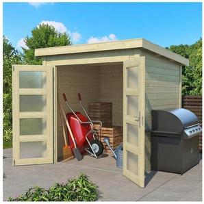 Outdoor Life Products Gartenhaus »Zambezi 1«, BxT: 220x225 cm