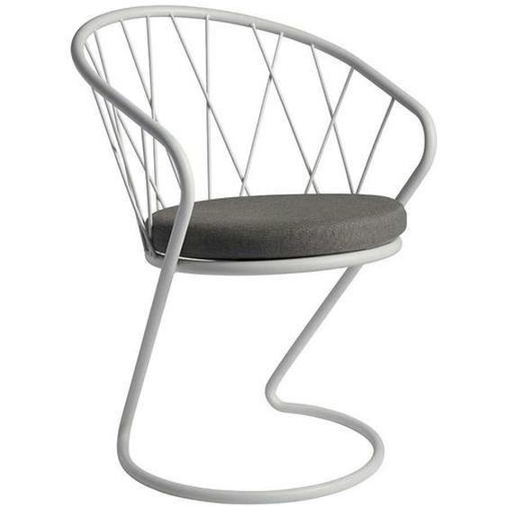 Outdoor Stühle in Weiß freischwingend