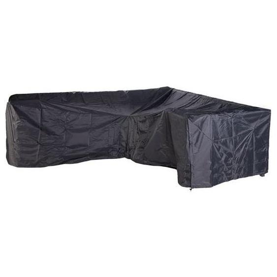 OUTLIV. Loungehülle L-Form gleichschenklig 255/255x100 Schwarz