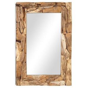 OUTLIV. Spiegel 120x80x10cm Teak-Holz/Glas Teak