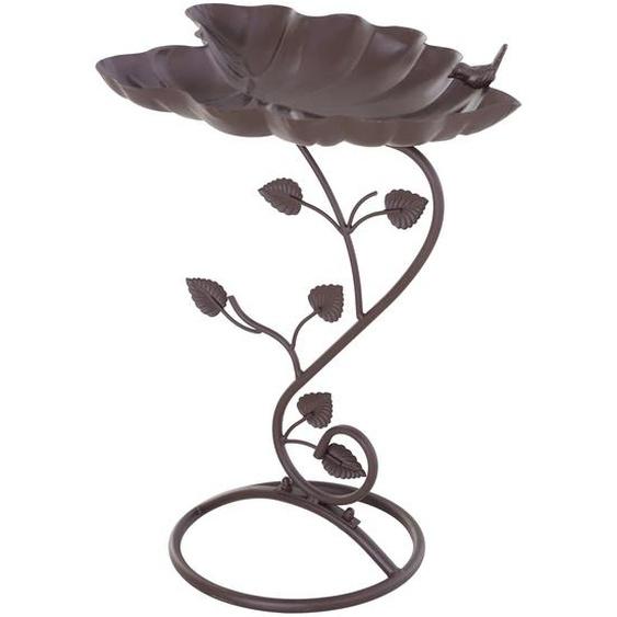 Outsunny Vogeltränke in Lotosblatt-Form bronze