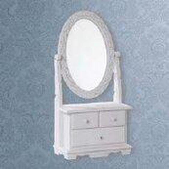Ovaler Schminkentisch-Spiegel Sasha