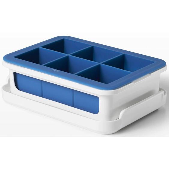 oxo kitchen Eiswürfelform, ergibt 6 Eiswürfel von je 4,5 cm Einheitsgröße weiß Baraccessoires Weinaccessoires Küchenhelfer Haushaltswaren Küchenformen