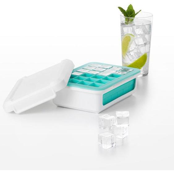 oxo kitchen Eiswürfelform, für 48 kleine Eiswürfel 17,5 x 13 cm weiß Baraccessoires Weinaccessoires Küchenhelfer Haushaltswaren Küchenformen