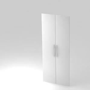 Paar Türen 5 Ordnerhöhen BM Weiß