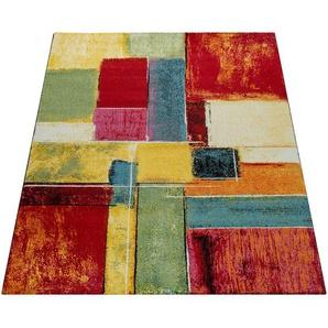Paco Home Teppich Modern Splash Designer Teppich Bunt Karo Model Neu OVP