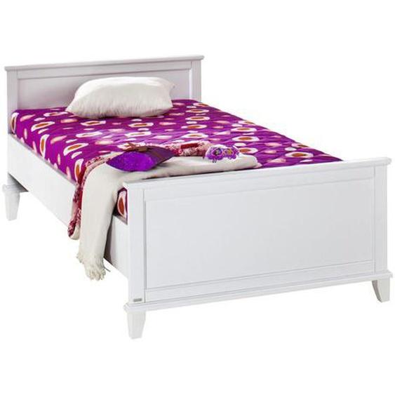 Paidi Bett , Weiß , Holzwerkstoff , 90x200 cm