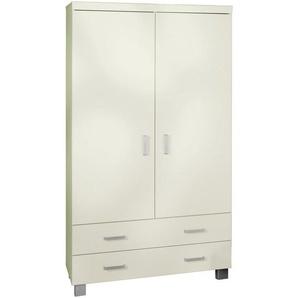 Paidi: Kleiderschrank, Holzwerkstoff, Weiß, B/H/T 109,9 199,2 55,9