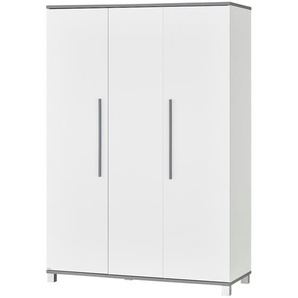 PAIDI Kleiderschrank 3-türig  Kalea - weiß - 135,3 cm - 195,9 cm - 55,6 cm   Möbel Kraft