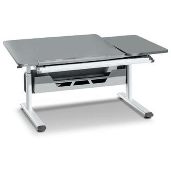 Paidi Schreibtisch, Grau, Holz