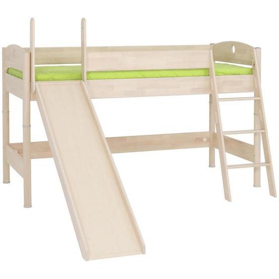 Paidi Spielbett Birke massiv 90/200 cm Braun , Holz , 90x200 cm