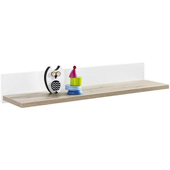 Paidi Wandboard Weiß, Braun , 90x13.9x21.6 cm