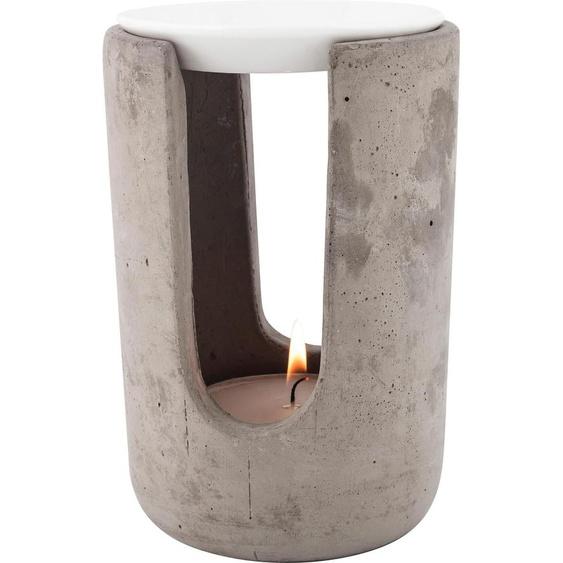 pajoma Duftlampe Ambiente, hochwertige Verarbeitung Maße(H/Ø):(15/10) grau Kerzenhalter Kerzen Laternen Wohnaccessoires Duftlampen