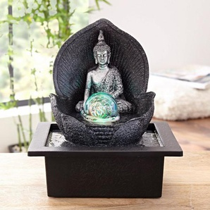 Home affaire Zimmerbrunnen »Silver Buddha«