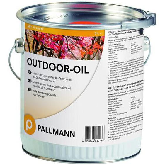 Pallmann Outdoor Oil Teak 3 L - SALE
